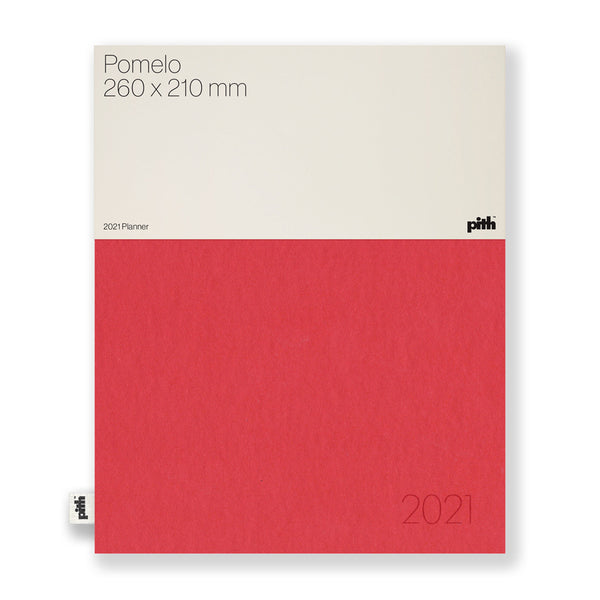 Pith - Pith - Pomelo Notebook - Red