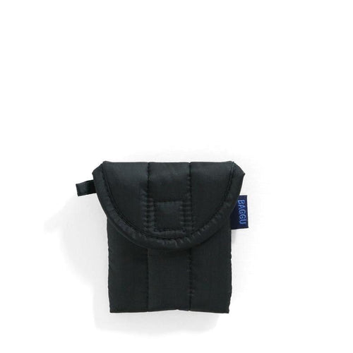 Baggu - Puffy Earphone / Air Pods Case - Jet Black