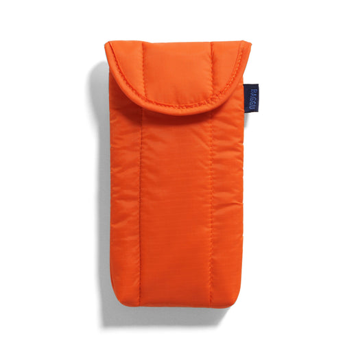 Baggu - Puffy Glasses Sleeve - Orange