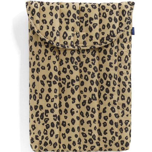"Baggu - 16"" Puffy Laptop Sleeve - Honey Leopard"