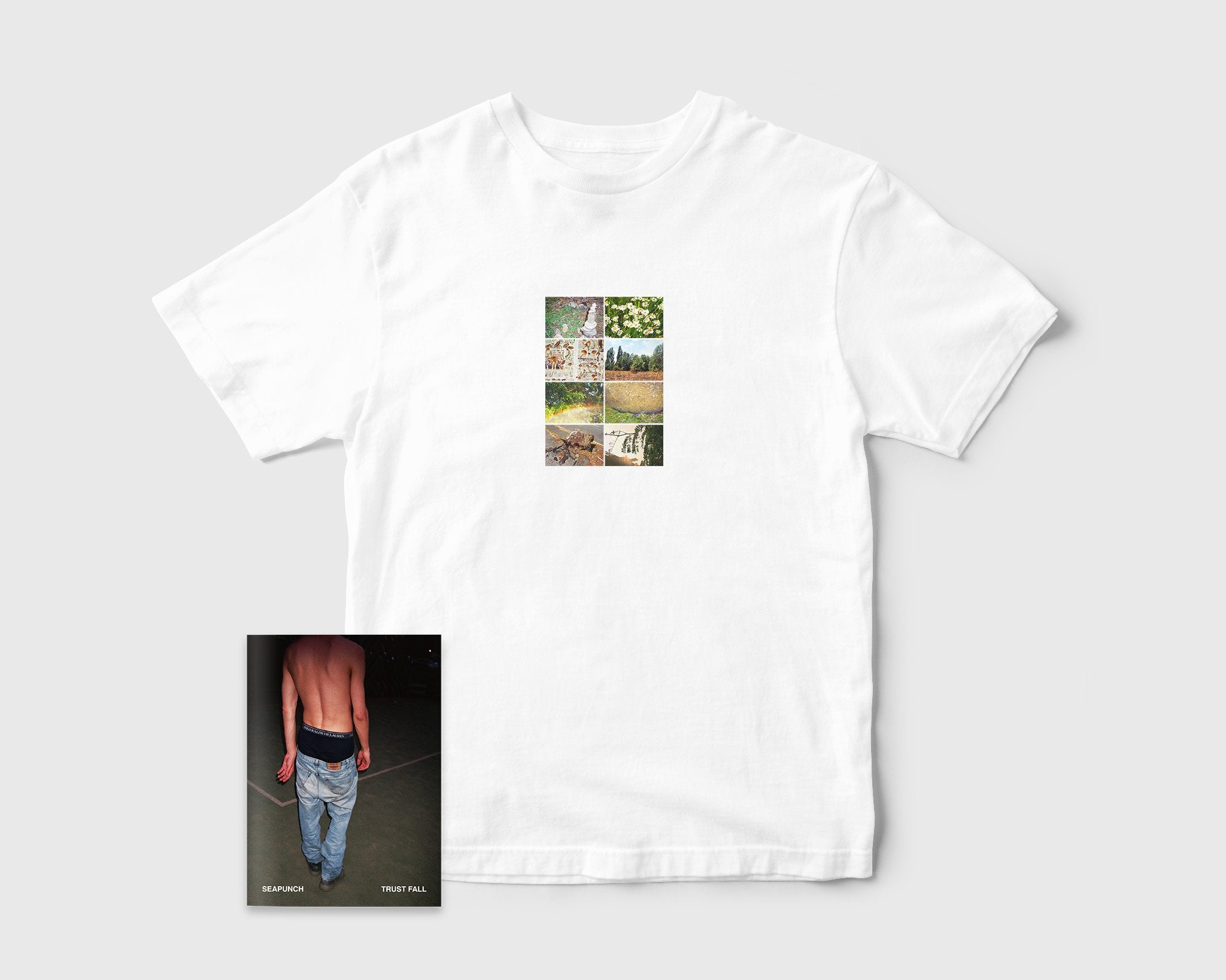 Tomorrow - Tomorrow x Village x Seapunch 'Trust Fall' Zine/T-Shirt Pack