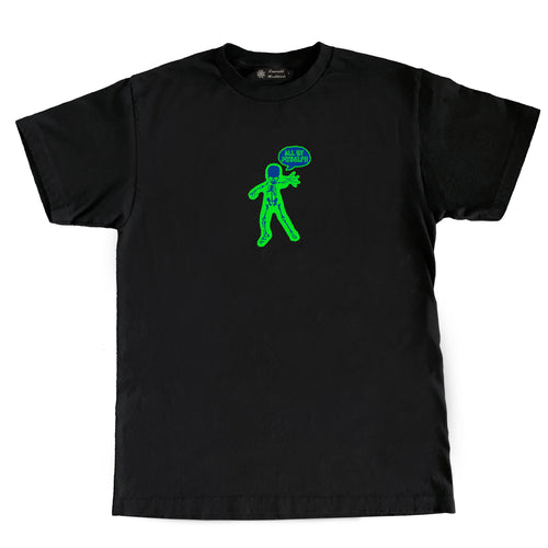 Emerald Worldwide - Skeleton Tee - Black