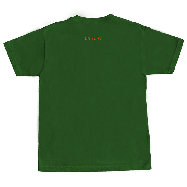 Emerald Worldwide - Emerald Worldwide - Life Stinks Tee - Green