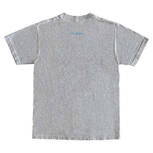 Emerald Worldwide - Life Stinks Tee - Heather Grey