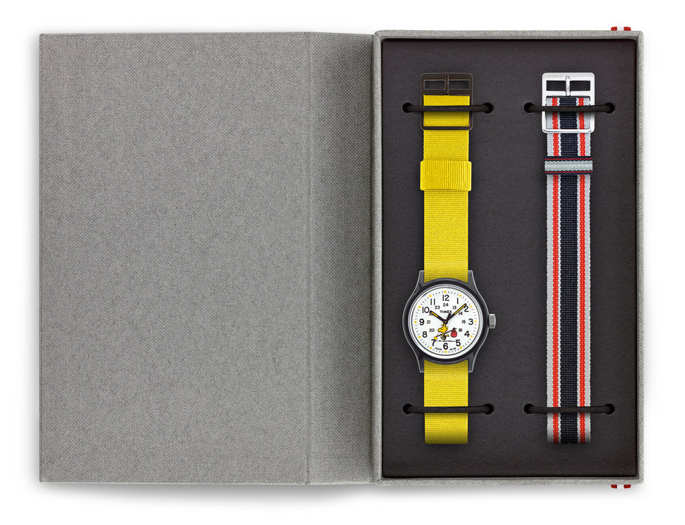 Timex - Timex MK1 - Woodstock 36mm Fabric Strap Watch Box Set
