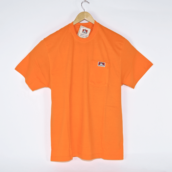 Ben Davis - Ben Davis - Heavy Pocket T-Shirt - Orange