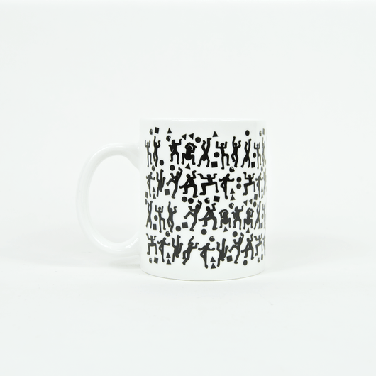 Carhartt WIP - World Party Mug - White / Black