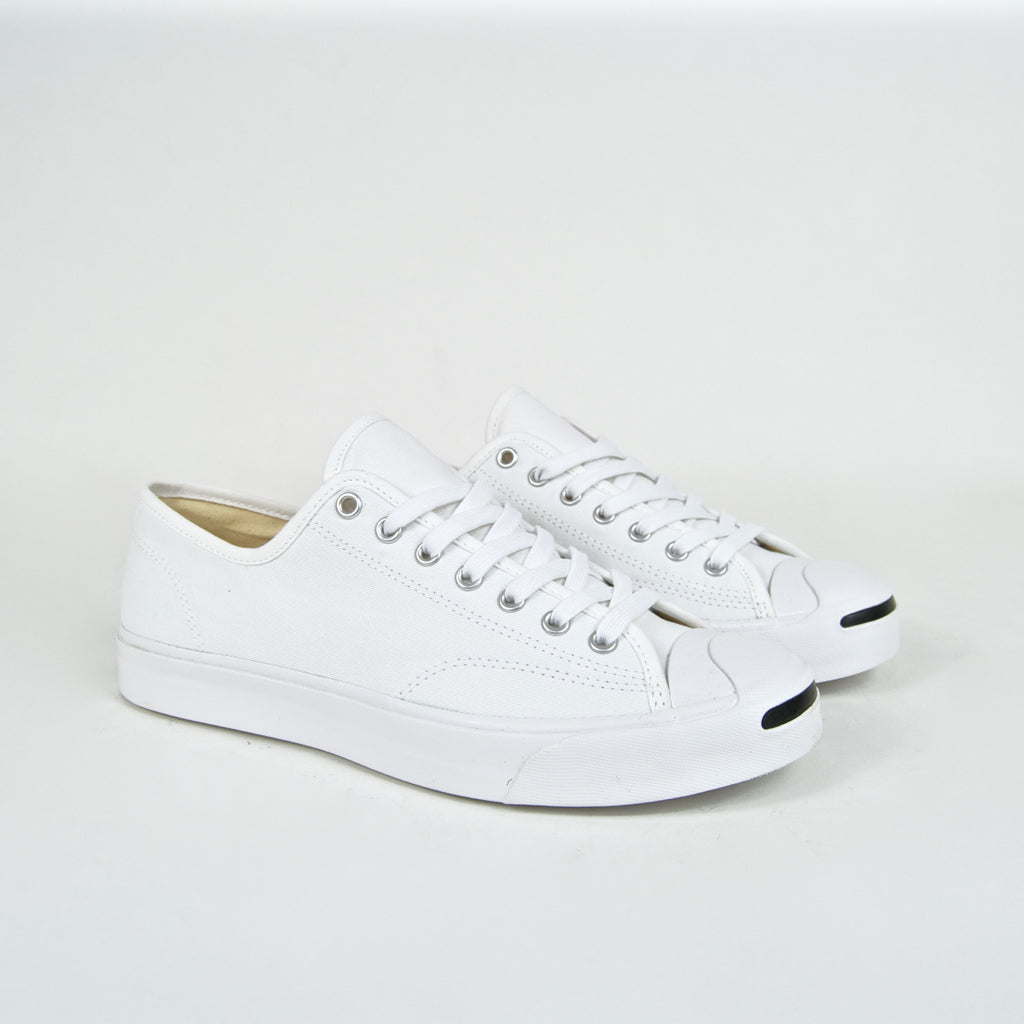 1d467f8975f4 Converse - Jack Purcell OX Shoes - White   White   Black – Tomorrow ...