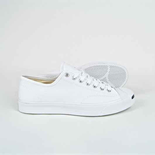 Converse - Jack Purcell OX Shoes - White / White / Black