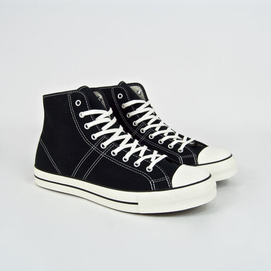Converse Lucky Star Hi Black Canvas Shoes