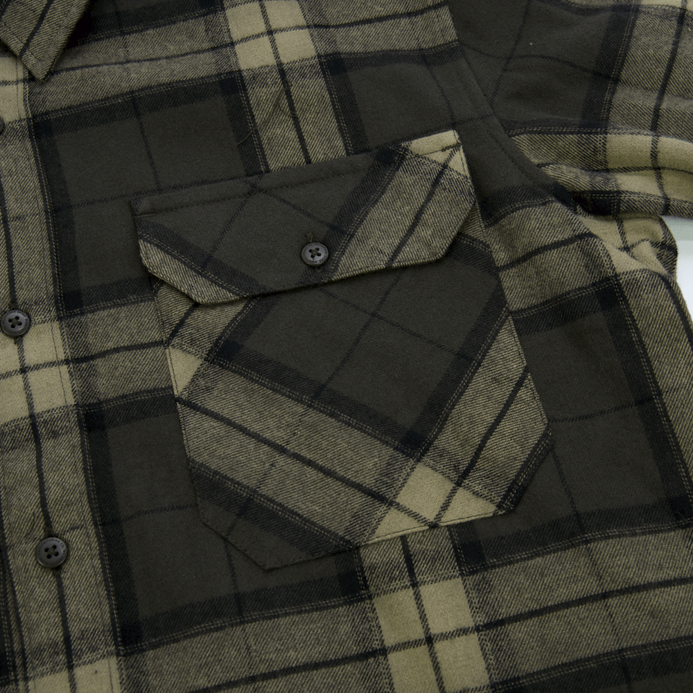 Dickies - Dickies - Brownsburg Flannel Shirt - Brown