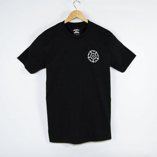 Don't Mess With Yorkshire - Rose Logo T-Shirt - Black