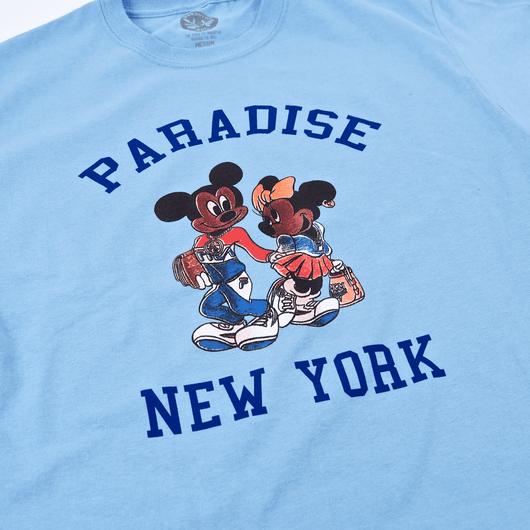 Paradise - Mickey And Minnie T-Shirt - Blue