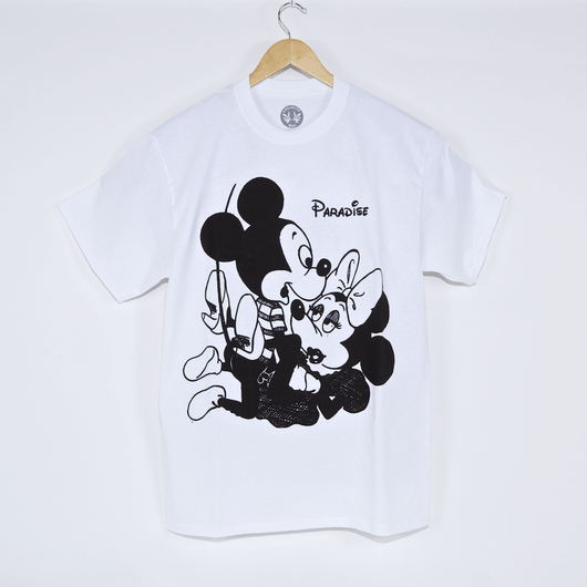 Paradise Mickey & Vivienne White T-Shirt