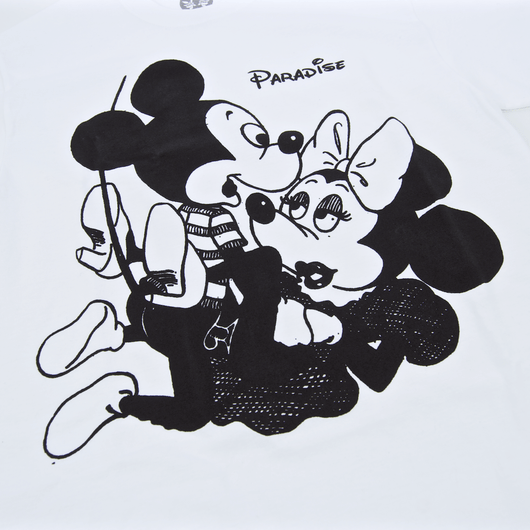 Paradise - Mickey & Vivienne T-Shirt - White