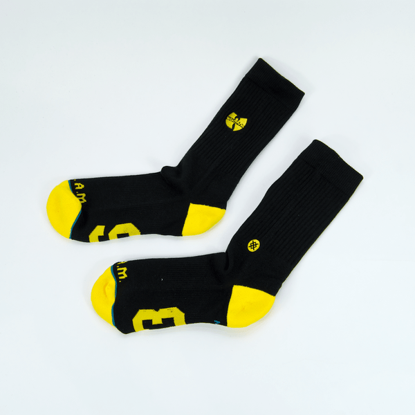Stance - Stance - Anthem Wu-Tang Patch Socks - Black