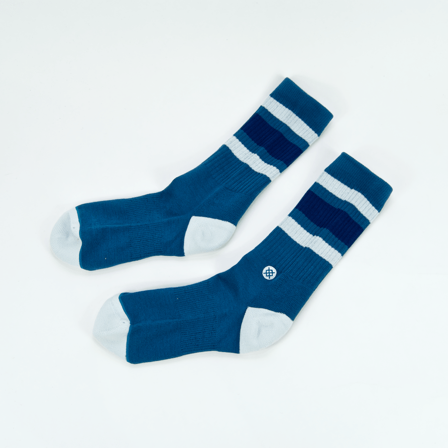 Stance - Stance - Uncommon Solids Boyd 4 Socks - Indigo