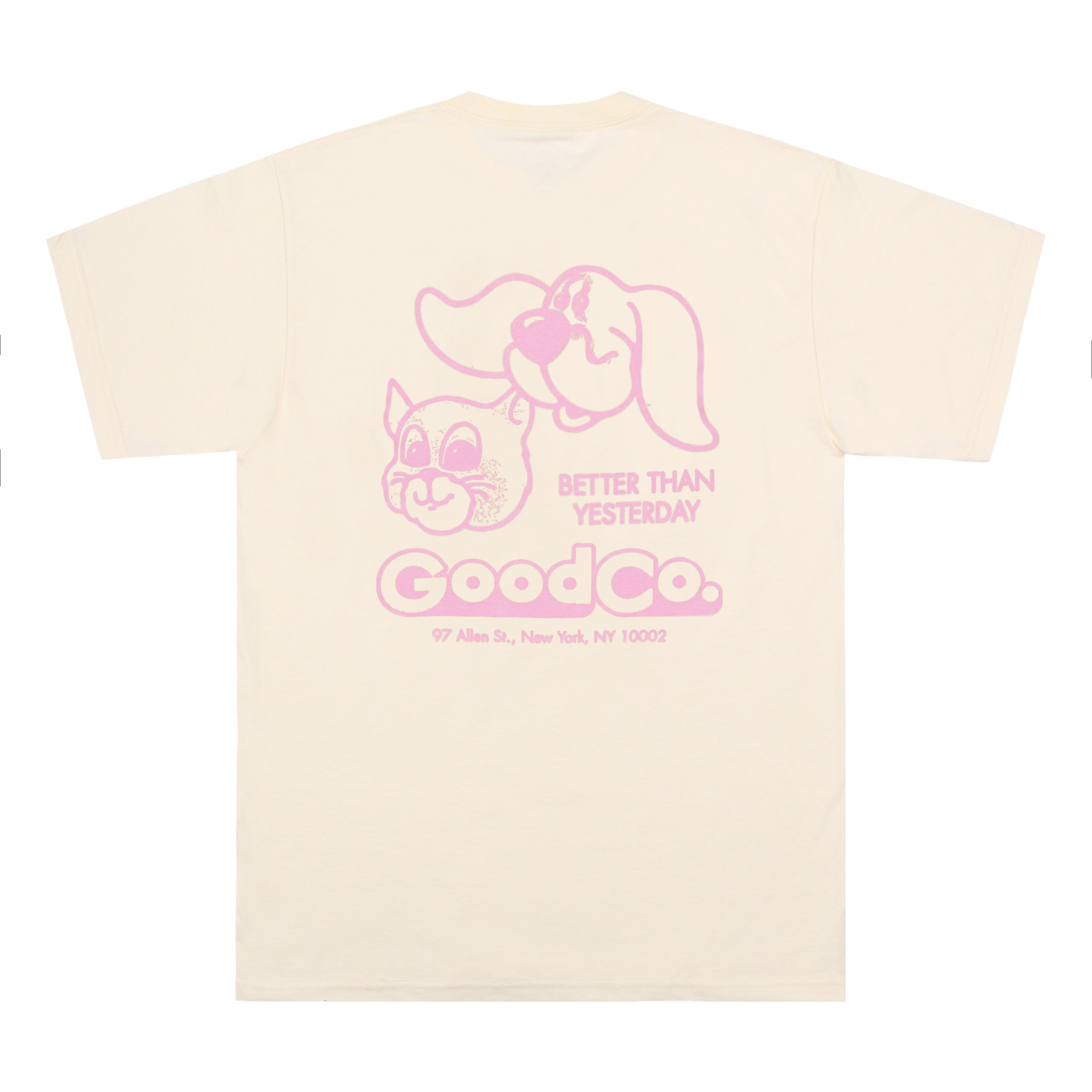 The Good Company - The Good Co - Friends Tee - Cream