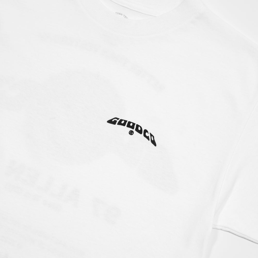 The Good Company - The Good Co - Don't Worry Tee - White