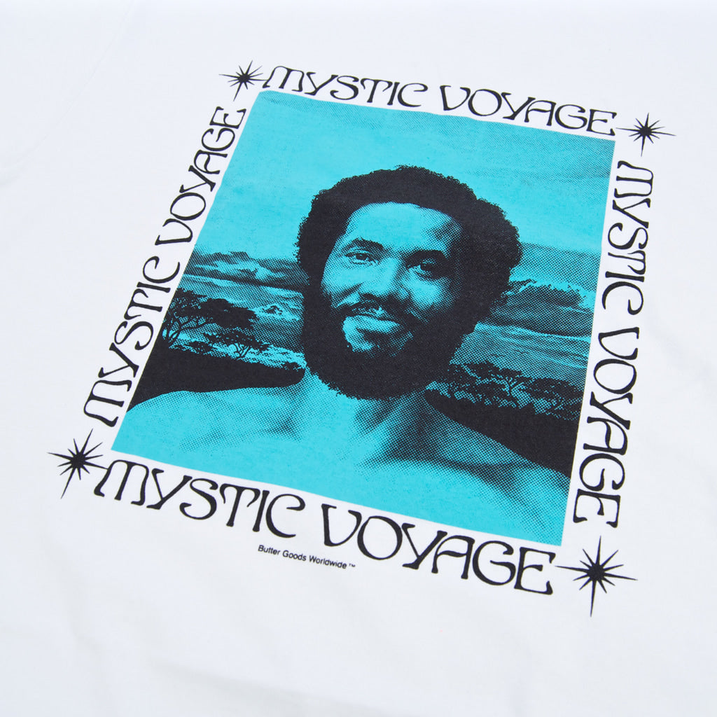 Butter Goods - Butter Goods - Mystic Voyage T-Shirt - White