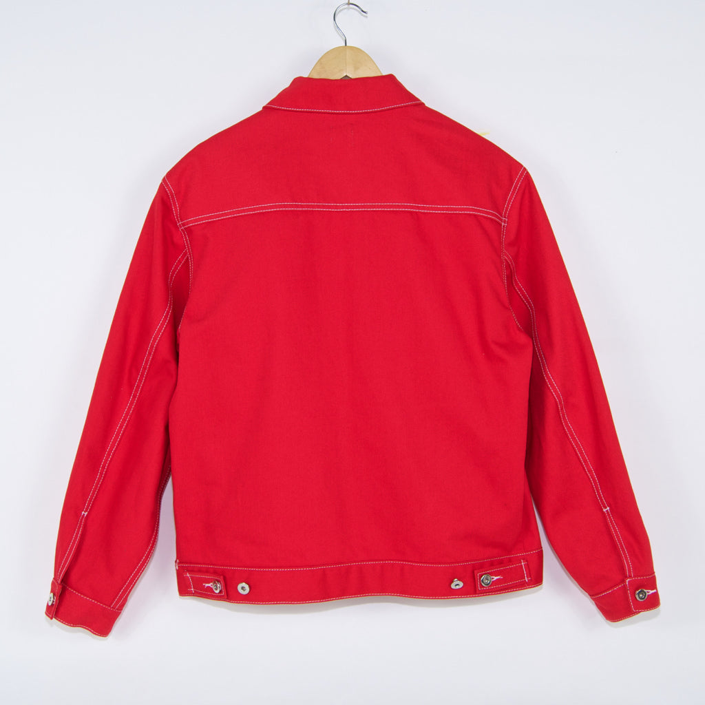 Polar Skate Co. - Polar Skate Co. - 94 Denim Jacket - Red