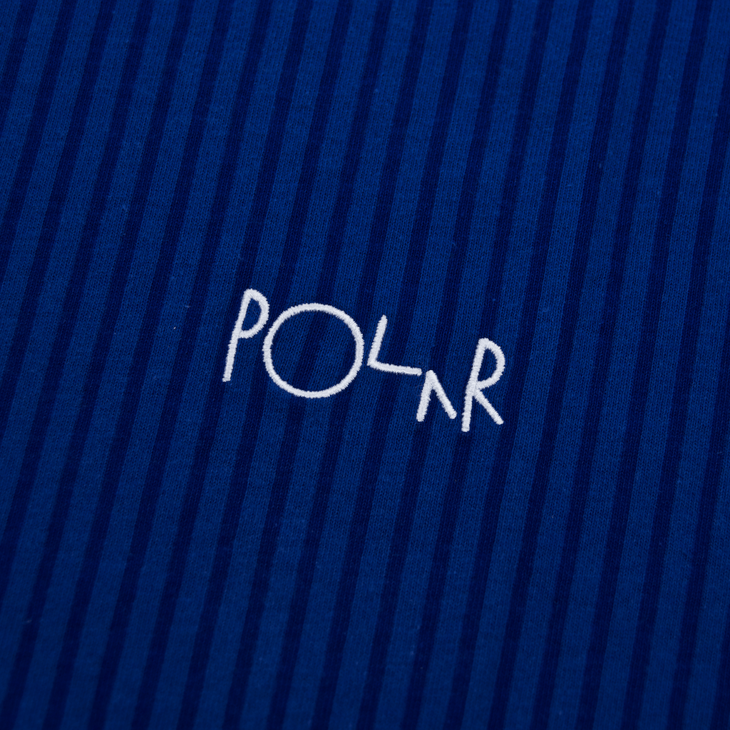 Polar Skate Co. - Polar Skate Co. - Vertical Stripe T-Shirt - Dark Blue