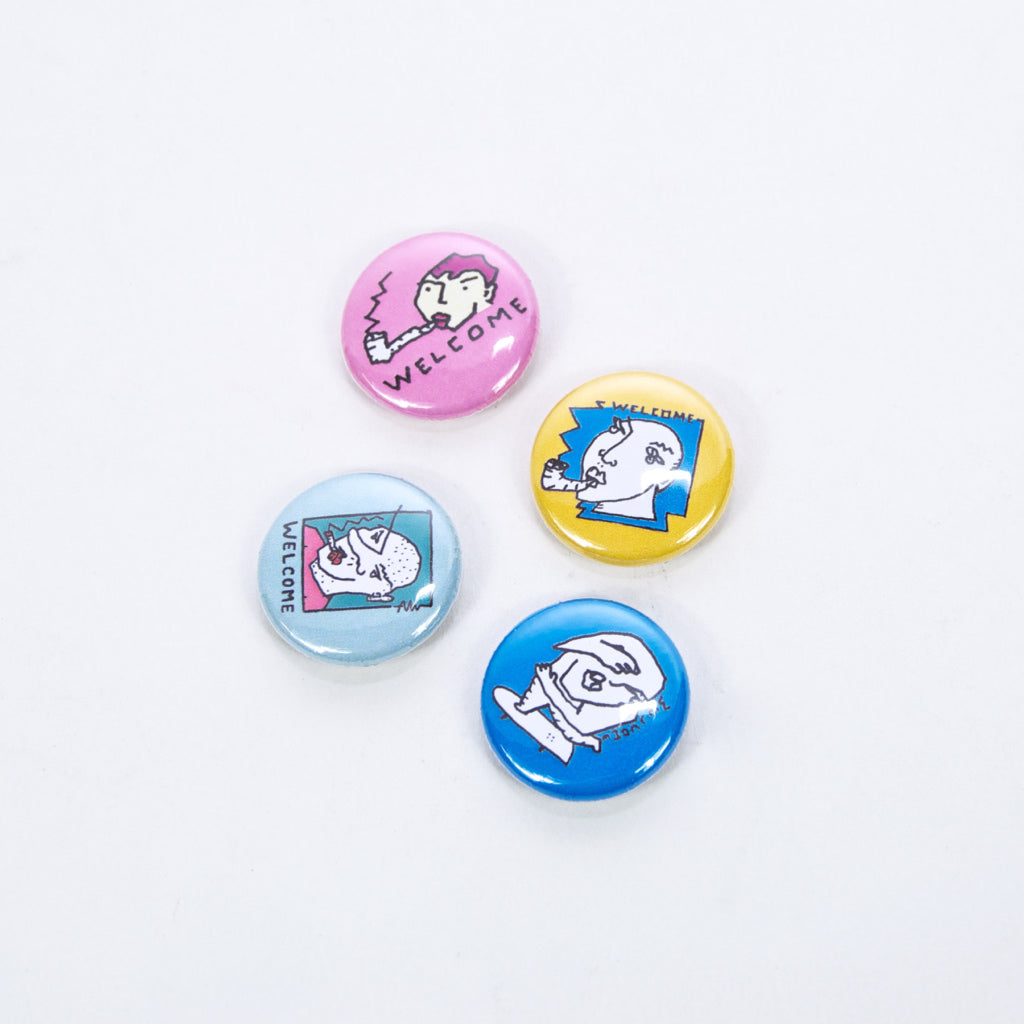 Polar Skate Co. - Welcome Skate Store x Alv - Pin Badge Set