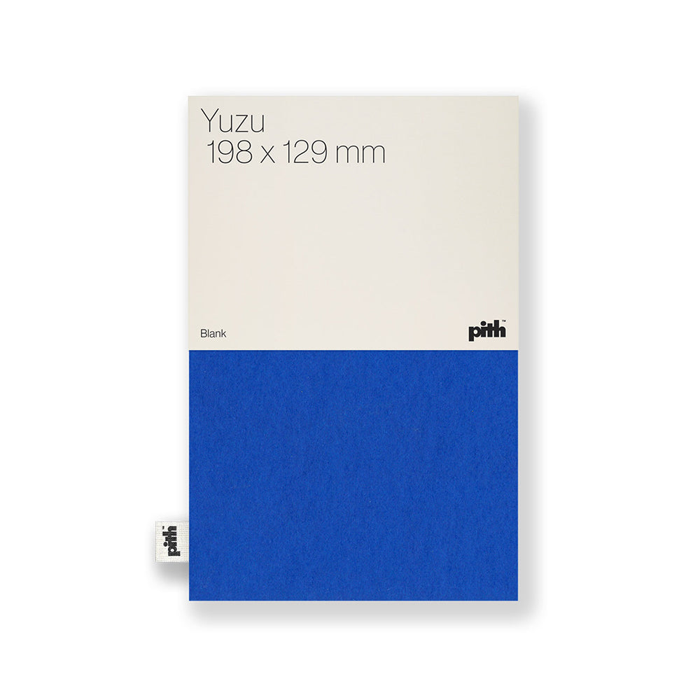 Pith - Pith - Yuzu Notebook - Blue