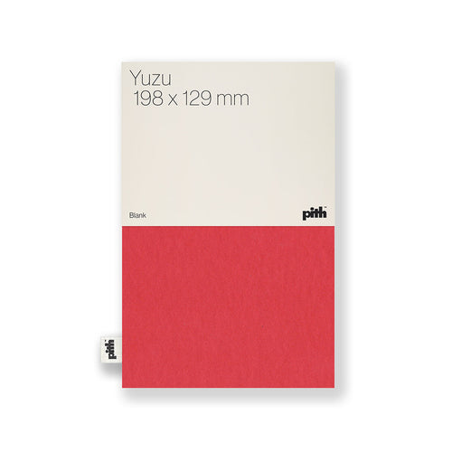 Pith - Yuzu Notebook - Red