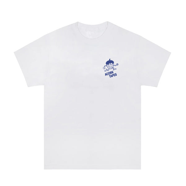 Acorn Tapes - Acorn Tapes - Running Man T Shirt -White