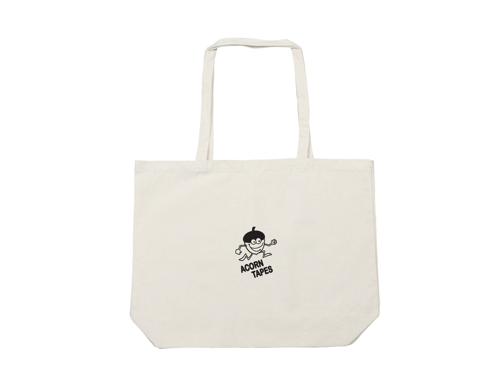 Acorn Tapes - Acorn Tapes - White / black Tote bag