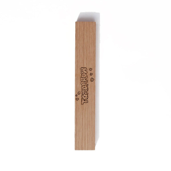 Tomorrow - Homework x Tomorrow - Hardwood Incense Burner - American White Oak