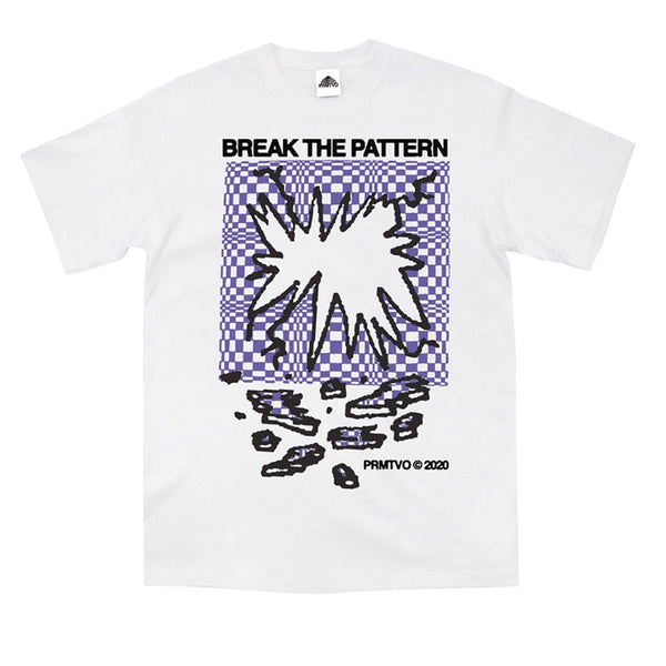 PRMTVO - PRMTVO - Break The Pattern T-Shirt - White