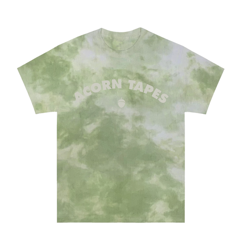 Acorn Tapes - Classic Arch Logo Hand Dyed Tee - Green