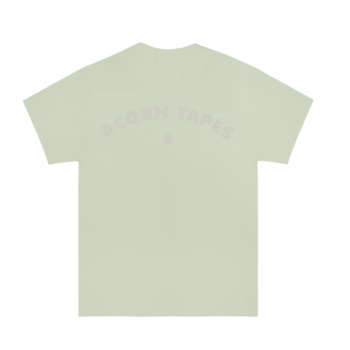 Acorn Tapes - Classic Arch Logo Hand Dyed Tee - Pistachio