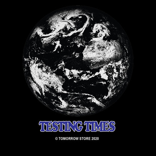 Tomorrow - Testing Times T-Shirt - Black
