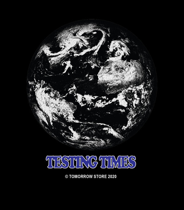 Tomorrow - Tomorrow - Testing Times T-Shirt - Black