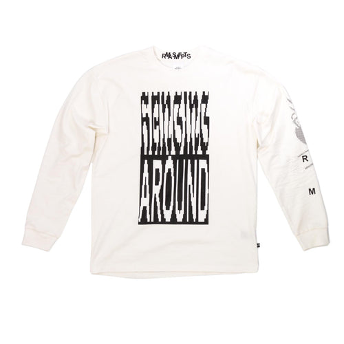 Ramps x Misfits - Hanging Long Sleeve - White