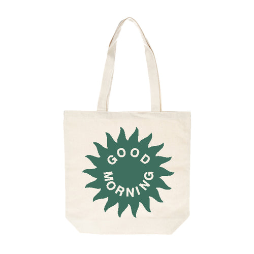 Good Morning Tapes - DWTP Tote Bag - Natural