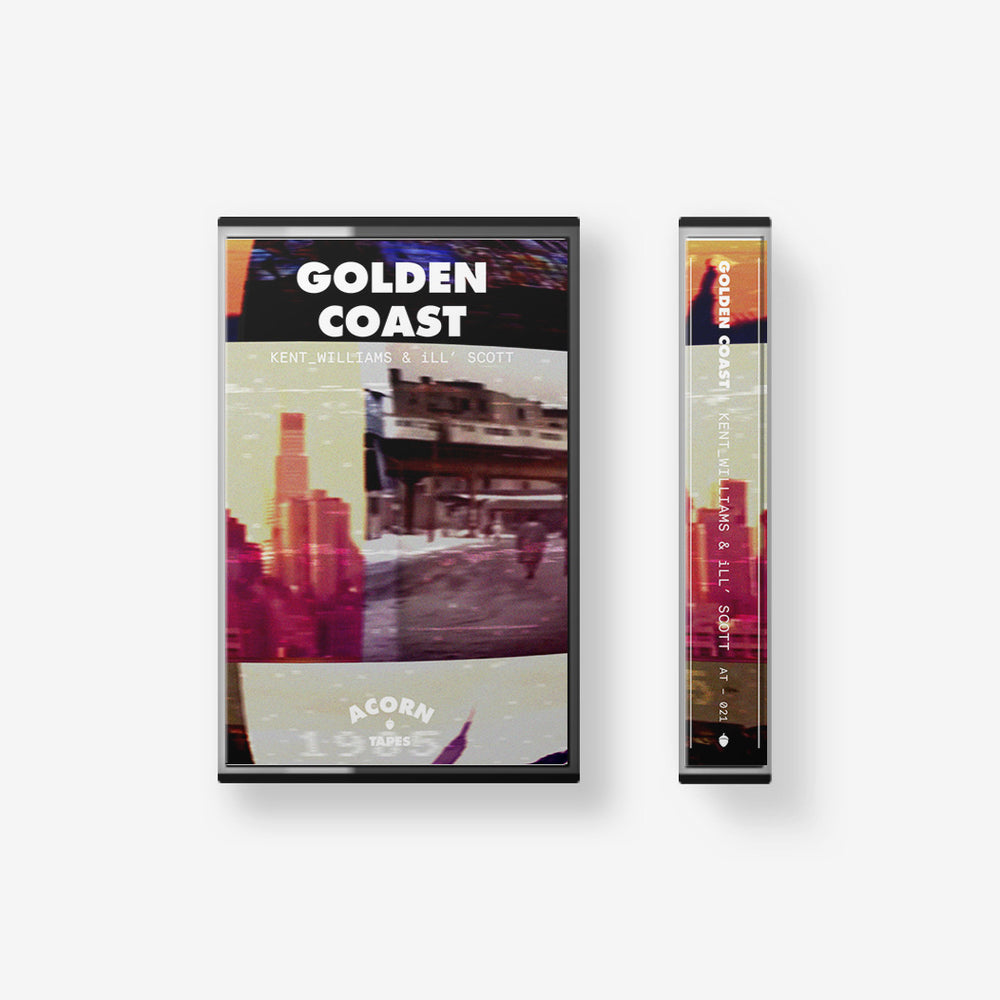 Acorn Tapes - Acorn Tapes - GOLDEN COAST Cassette Tape - Kent_Williams & iLL SCOTT