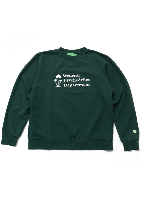Mister Green - Mister Green - General Psychedelics Sweatshirt - Forest Green