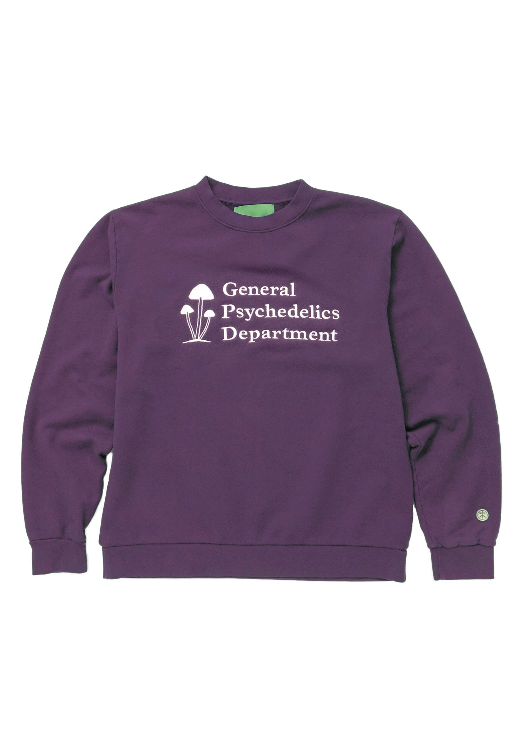 Mister Green - Mister Green - General Psychedelics Sweatshirt - Purple