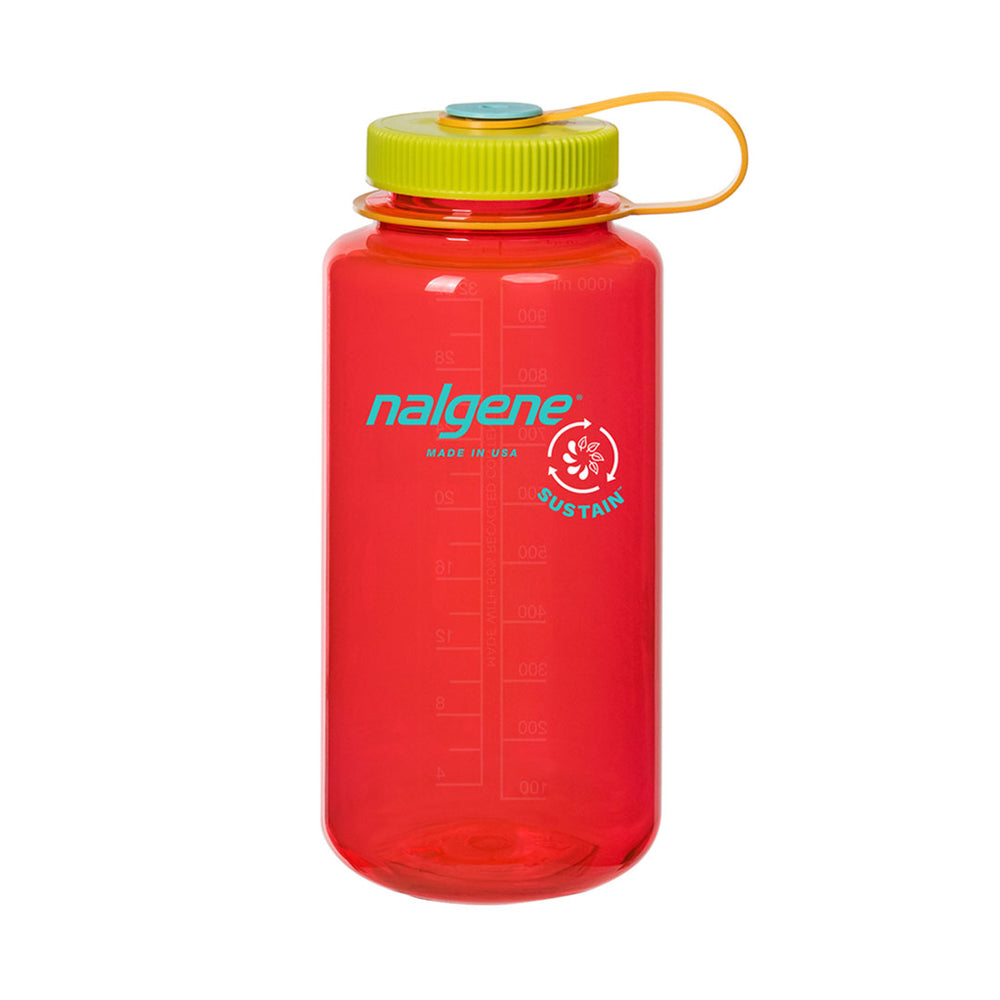 nalgene - Nalgene - Wide Mouth Tritan 1L Water Bottle - Pomegranate