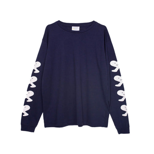 Public Possession - United Emotions - Long Sleeve T-Shirt - Navy