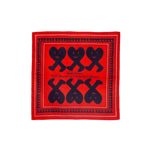 Public Possession - United Emotions Bandana - Red & Blue