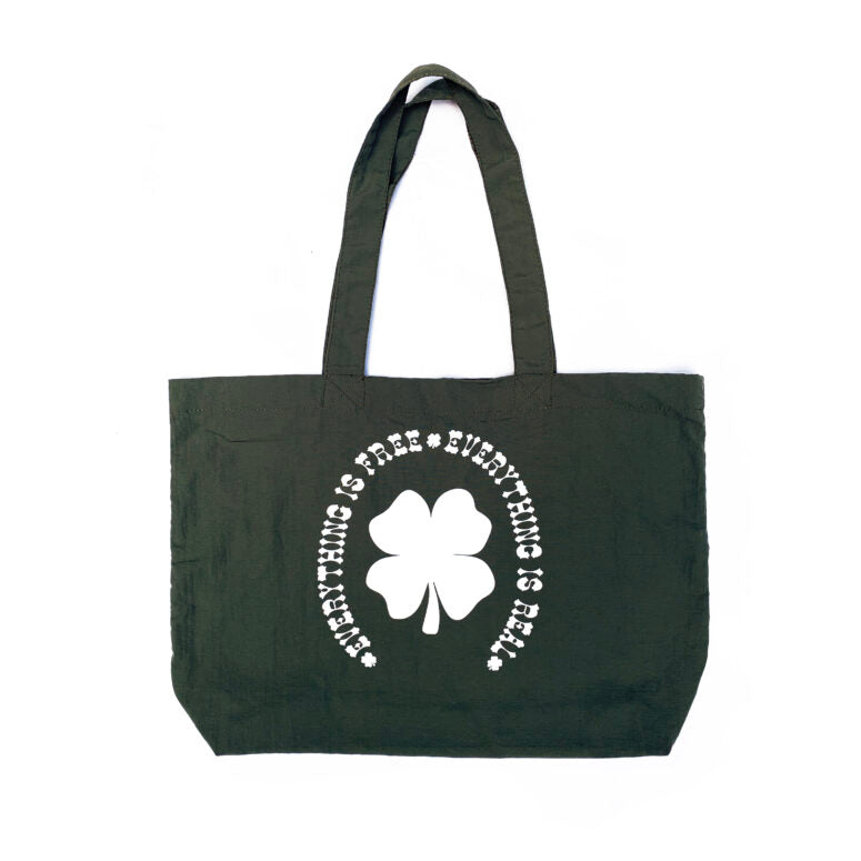 Public Possession - Public Possession  - Free & Real - Tote Bag - Green