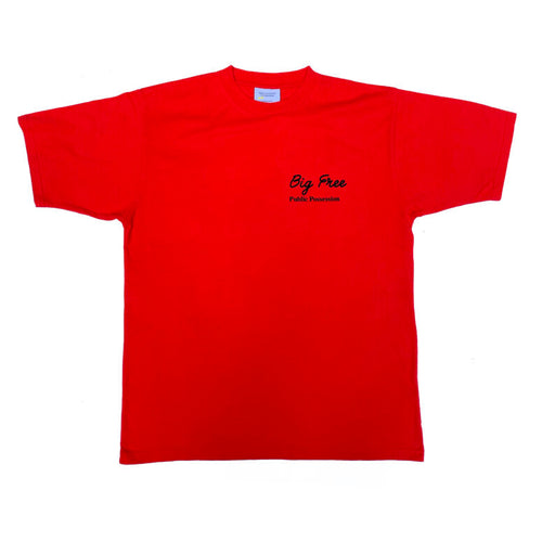 Possession - Big Free -  T-Shirt - Red