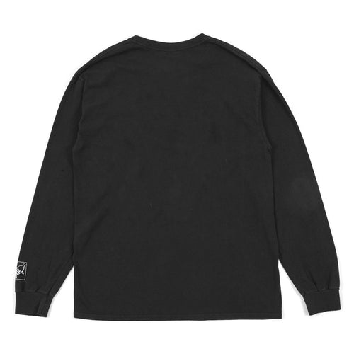 Thermal Bath Long Sleeve Tee -Black