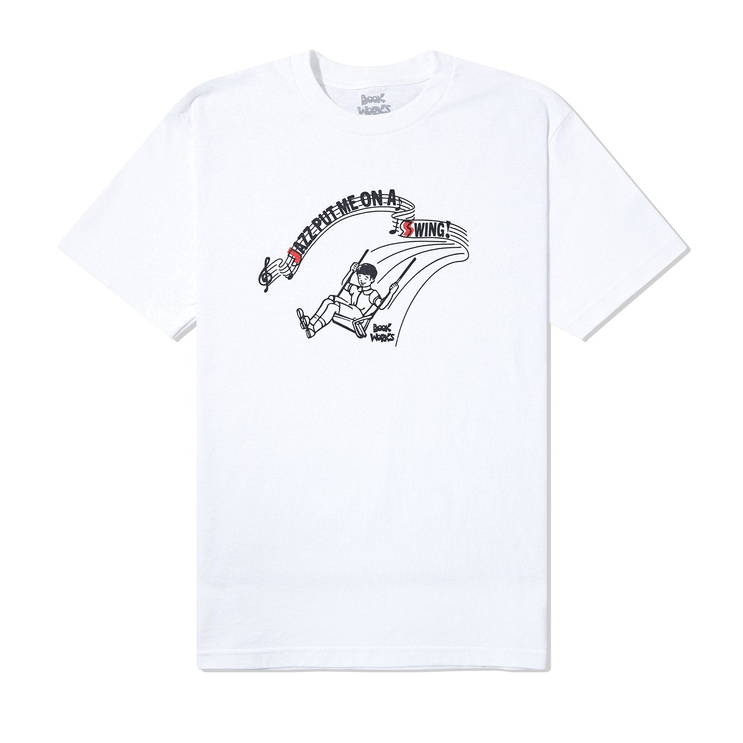 Book Works - Book Works - Swing Tee - White