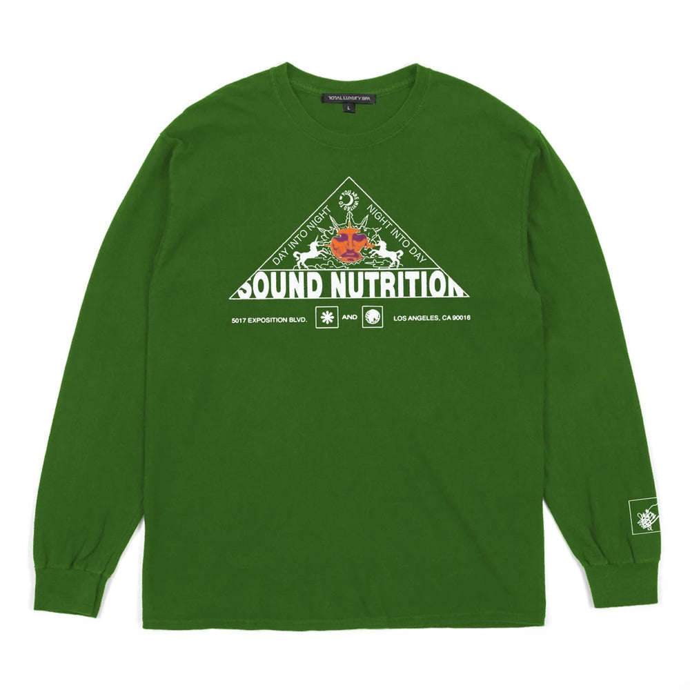 Total Luxury Spa - Sound Nutrition LS Tee -Green